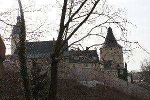 Schlossansicht vom Schlosspark aus (Foto: der uNi)