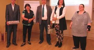 Oberarzt Ronald Krüger, Gabriele Zoll, Dr. Lutz Gebert, Kirsten Mahn, Beate Uhlemann (Foto: Ilka Schiwek)