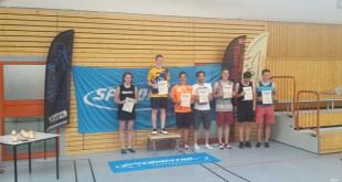 Erfolgreiche Wettkämpfe der Speed Badminton aus Altenburg (Foto: SV Aufbau Altenburg e.V. Speed Badminton Altenburg)