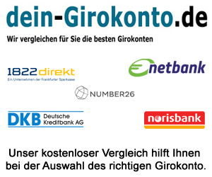 Vergleichen Sie die besten Girokonten bei dein-Girokonto.de