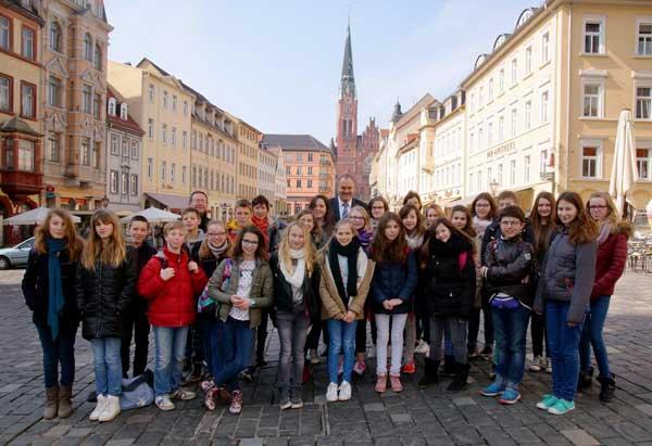 Spalatin Gymnasium Französische Schüler Besuchten Altenburg Abg