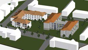 Projektvorschlag der Investoren zum Jahnpark
