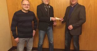 BERGER spendet 1000 Euro an sozial Benachteiligte (Foto: der uNi / ABG-Info)