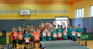 Kreisentscheid der mini-Meisterschaften im Tischtennis (Foto: Dominik Meisel)