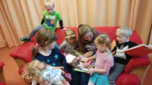 """Geschichtenwerkstatt der Kita Kastanienhof (Foto: Kindertagesstätte """"Kastanienhof"""")"""