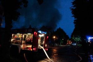 Großbrand am 08.06.2017 in Altenburg (Foto: der uNi)