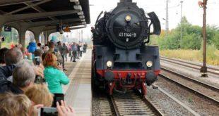 175 Jahre Bahnverbindung nach Leipzig (Foto: Ronny Seifarth)