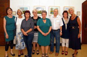 """Die """"Künstlergruppe Altkirchen"""" zeigt die Vielfalt des Altenburger Landes. (Foto: Ronny Seifarth)"""