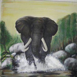 Ausstellung Ron Anger - Das Tier im Mann