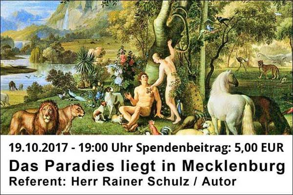 vortrag: das paradies liegt in mecklenburg | abg-info.de news- und, Einladung