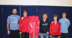 v.l.n.r. Jan Heilmann, Sandra Kramer, Mike Kunze, Beatrice Seifert und Andreas Prautsch (Foto: Torsten Rist)