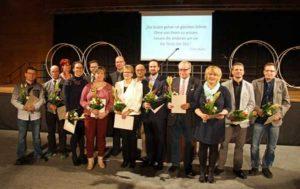 14 Frauen und Männer, die sich in Sportvereinen engagieren, wurden geehrt. (Foto: Ronny Seifarth)
