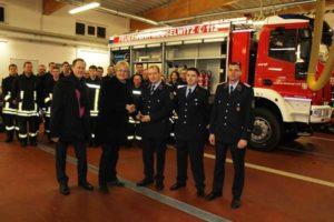 Neues Löschfahrzeug für die Meuselwitzer Feuerwehr (Foto: Landratsamt Altenburg)