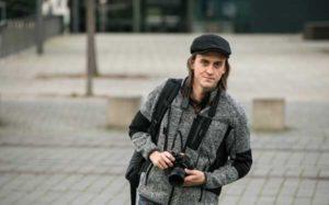 Ronny Ristok ist neuer Theaterfotograf bei Theater&Philharmonie Thüringen. (Foto: Nadine Prömel)