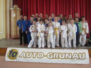 Die Judokas des JSV Rositz, (Foto: privat)