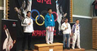 Karimi holt wichtiges internationales Gold (Foto: Sakura Meuselwitz)