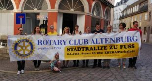 Stadtrallye startet zur Jubiläumstour 2018 (Foto: Claudia Wolter)