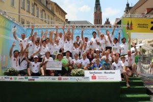 10. Skatstadtmarathon – SV Lerchenberg gewinnt Vereinswertung und Wette (Foto: Verein)