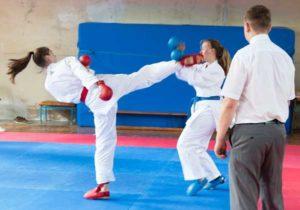 Kreisjugendspiele in der Sportart Karate (Foto: Sakura Meuselwitz)