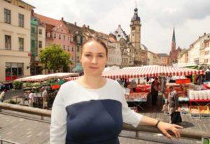 Katharina Schenk will sich für die Stärkung von Handel und Gastronomie im Zentrum einsetzen. (Foto: Ronny Seifarth)