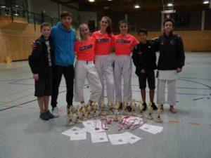 """Meisterschmiede """"Sakura"""" erkämpft 16 Titel bei den Thuringia Open (Foto: Sakura Verein)"""