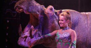 Der renommierte Circus Voyage kommt mit Flusspferd-Jedi nach Altenburg! (Foto: Circus Voyage)