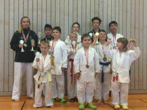 Die Sakuras waren erfolgreich bei den Verbandsjugendspielen in Königsee (Foto: Sakura Meuselwitz)