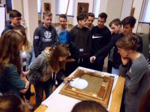 Schulprojekt zur Provenienzforschung (Foto: Lindenau-Museum)