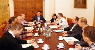 Auf Einladung von Oberbürgermeister André Neumann kam am 1. März der Kriminalpräventive Rat im Altenburger Rathaus zusammen. (Foto:Ronny Seifarth)