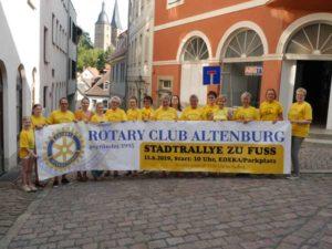 """Stadtrallye geht ins """"Mystische Altenburg"""" (Foto: Claudia Wolter)"""