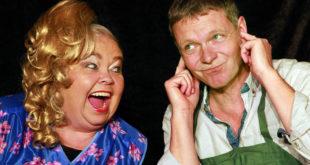 """Guck mal wer da schreit! mit Eva-Maria Fastenau & Michael Seeboth (Foto: Kabarett """"Fettnäppchen"""")"""