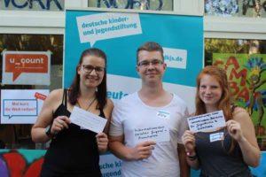 Deutsche Kinder- und Jugendstiftung erarbeitet mit Jugendlichen Zukunftsideen (Foto:   Frau Almut Ryssel)