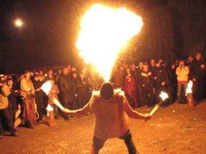 Feuershow (Foto: COEX Veranstaltungs GmbH & Co.KG)