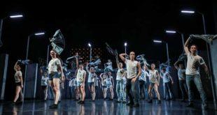 """Theater Altenburg Gera, """"Forever Lennon"""", mit dem Thüringer Staatsballett, Johnny Silver und Band, Choreografie: Silvana Schröder (Foto: Ronny Ristok)"""