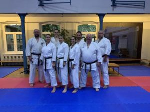Hohe Karate-Danprüfungen in Meuselwitz (Foto: Sakura)