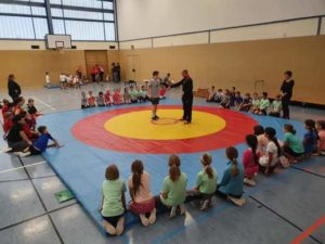 Ringen: Kreis-Jugend-Spiele 2019 fanden statt (Foto: SV Lokomotive Altenburg e. V.)