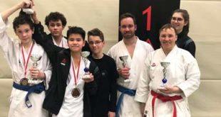 Die Sportler vom Karateverein SKD Sakura Meuselwitz e.V. (Foto: Sakura)