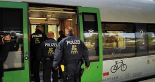 Fahndungstag der Bundespolizei in Mitteldeutschland auch am Bahnhof Altenburg (Foto: der uNi, abg-info.de)