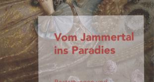 """Buchcover """"Vom Jammertal ins Paradies. Bestattungen und Totengedenken am Altenburger Hof im 17. Jahrhundert"""", 2021"""