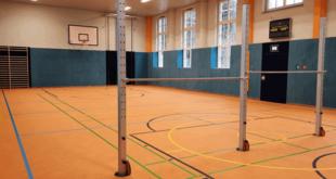 Bauarbeiten in der Turnhalle Rositz befinden sich auf der Zielgeraden (Foto: Landratsamt Altenburger Land)