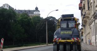 Langer Abschnitt der Rosa-Luxemburg-Straße mit neuem Verfahren instandgesetzt (Foto: Christian Bettels)